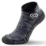 SKINNERS Minimalistische Barfuß-Sockenschue für Damen und Herren | ultraportable superleichte und atmungsaktive Fußbekleidung | Perfekt für Reise, Workout, Laufen, Wandern, Wassersport und Autofahren
