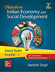 Objective Indian Economy and Social Development: For Civil Services/State Civil Services Preliminary Examination (General Studies: Paper - I)