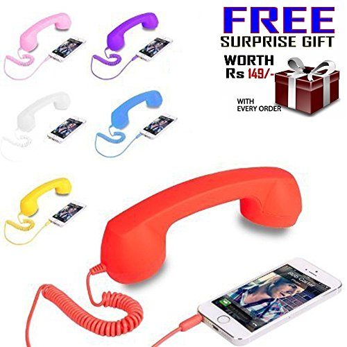 GKP Products ® Radiation free Handset (Assorted color) with Free inside the surprise Gift.