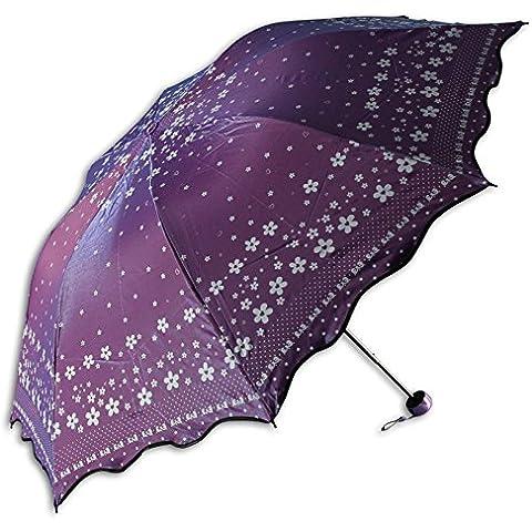 Paraguas de triple plegado