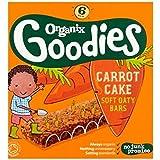 Organix Goodies Gâteau De Carotte Bio Barres De Oaty Mous 6 X 30G - Lot De 2