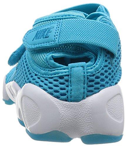 Nike - Wmns Air Rift Br, Scarpe sportive Donna Blu (Azul (Gamma Blue / Blue Lagoon-White))