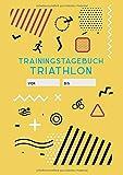 Trainingstagebuch Triathlon: Tageskalender A5 für Triathleten und Ausdauersportler - trainingszone