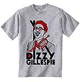 Photo de teesquare1st Men's Dizzy Gillespie Jazz Grey T-Shirt par teesquare1st