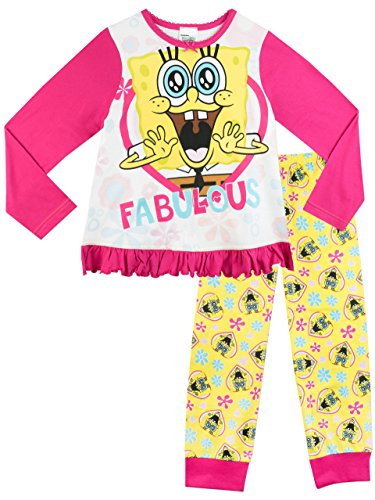 Bob Esponja - Pijama para niñas - SpongeBob SquarePants - 8 a 9 Años