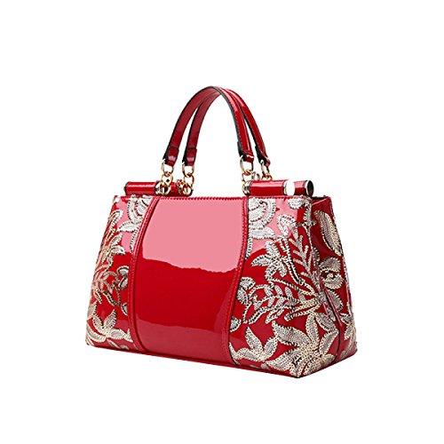 frau-high-end-mode-perlit-schicht-dekorative-muster-handtaschen-multicolorred-freesize