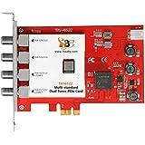 TBS-6522 DVB Multi Standard DVB-S2 DVB-T2 DVB-C ISDB-T Doppel-Tuner, PCIe HD TV-Karte, internal TV Tuner