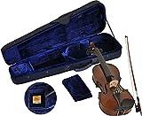 Steinbach Sv - 15044 Lh Gaucher Violin Set 4/4 Jeu De Violon ? La Main, Y Compris étui Et Archet