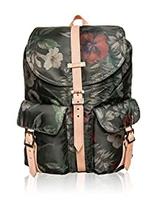 Herschel Dawson Backpack Select Hawaiian Camo/Veggie Tan Leather/fleur sac à dos