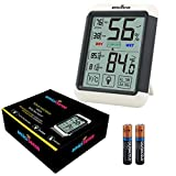 Best GENERIC Outdoor Thermometers - amiciSense AS-55 Digital Touchscreen With Backlight Temperature Humidity Review