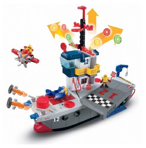 Imagen 7 de Fisher-Price - Imaginext - Portaaviones Héroes del Aire (Mattel)