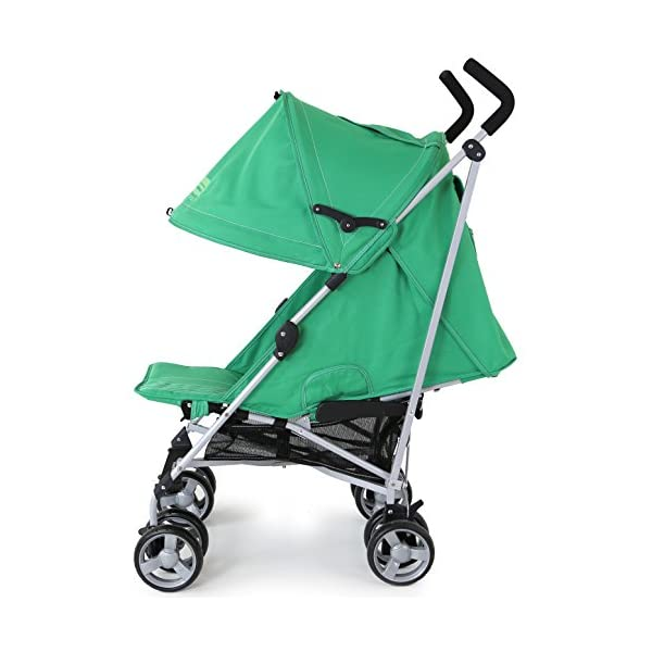 ZeTa Vooom Baby Stroller - Leaf (Green) ZETA Zeta Vooom Will Exceed You Expectations! Over 70,000 Thousand Parents Just Like You Own The Zeta Vooom And Have Rated It As The Best Stroller They Have Ever Had! Unique Drop Down Hood (Copy Right Protected), Superb Quality Product! The Best Money Can Buy! Better Than Any Pushchair In Its Class! Complete With FREE Rain Cover, Suitable From Birth 2