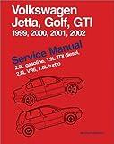 Volkswagen Jetta, Golf, GTI, 1999, 2000, 2001, 2002: Service Manual, 2.0l Gasoline, 1.9l Tdi Diesel, 2.8l Vr6, 1.8l Turbo: A4 Platform
