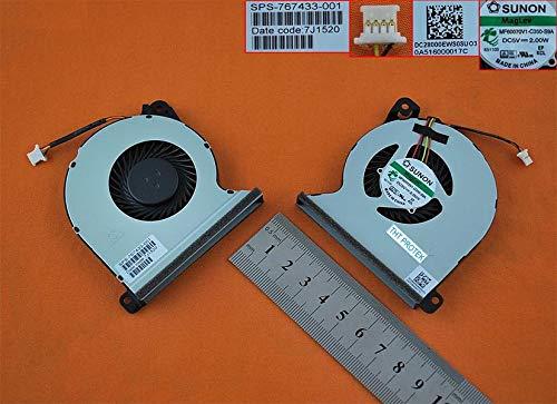 Kompatibel für HP Probook 440 G2, 445 G2, 455 G2, 450 G2 Lüfter Kühler Fan Cooler - Hp Heatsink Fan
