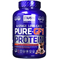 USN Pure Protein GF1 Low Carb Protein Shake, Chocolate, 2.28 kg