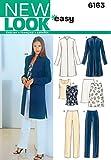 New Look Schnittmuster 6163 für Damenbekleidung, Gr. 38-48