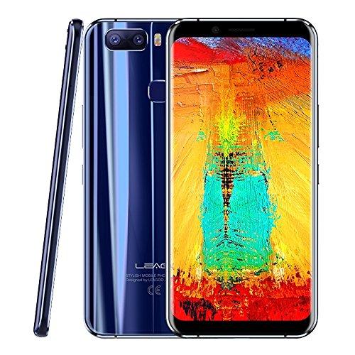 Entsperrt Phone 3g Lg (leagoo S8Pro Entsperrtes Smartphone 6GB + 64GB 15,2cm Dual Gebogene Kante leagoo OS 4.0(Android 7.0) MTK Heliotrop P25Octa Core bis zu 2,6Ghz WCDMA & GSM & FDD-LTE)