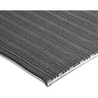 NoTrax 410 PVC Airug Safety/Anti-Fatigue Floor Mat, for Dry Areas, 2' Width x 3' Length x 3/8 Thickness, Black by NoTrax