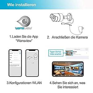 Wansview-WLAN-IP-Kamera-1080P-HD-berwachungskamera-fr-Auen-mit-LAN-WLAN-Verbindung-Outdoor-WLAN-IP66-Wasserdichte-Sicherheitskamera-Infrarot-Nachtsicht-deutsche-AppAnleitung