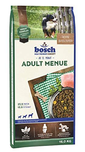 bosch HPC Adult Menue | Kroketten-Mix für ausgewachsene Hunde aller Rassen , 1 x 15 kg