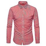 Hemd Herren Langarm bügelfrei Mumuj Elegantes Oxford Formal Freizeit Hemd Anzüge Business Slim Fit T-Shirt Oberteile Hochzeiten Boss Bluse Tops