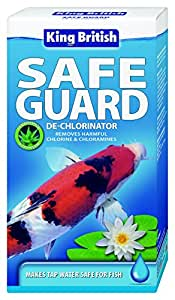 King British Safe Guard De-Chlorinator for Ponds 250 ml
