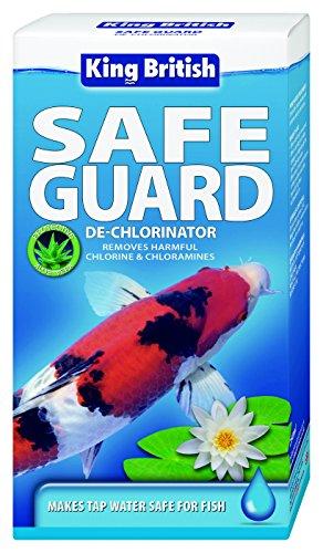 King British Safe Guard - De-Chlorinator for Ponds, 500ml 1
