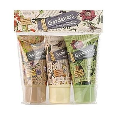 Heathcote and Ivory Gardeners Hand Cream Trio Set - 3 x 30 ml