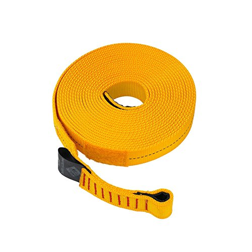 Palm Kayak oder Kayaking - Sicherheitsband 5 Meter x 25 mm - Rollen kompakt, ideal für die Aufbewahrung in Einer PFD-Fronttasche -