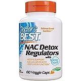 Doctor's Best | Regolatori di disintossicazione NAC | 60 capsule vegane | senza glutine | senza soia