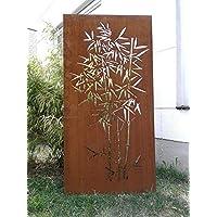 Edelrost Garten Sichtschutz Rost Sichtschutzwand Gartenzubehör Metall H180*75cm