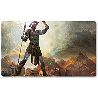 Playmats - Colossus-of-Akros - Board Game MTG Playmat Table Mat Games Size 60X35 cm Mousepad Play Mat for Yugioh Pokemon Magic The Gathering