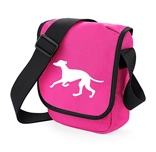 Bag Pixie - Borsa a tracolla unisex adulti White Hound Pink Bag