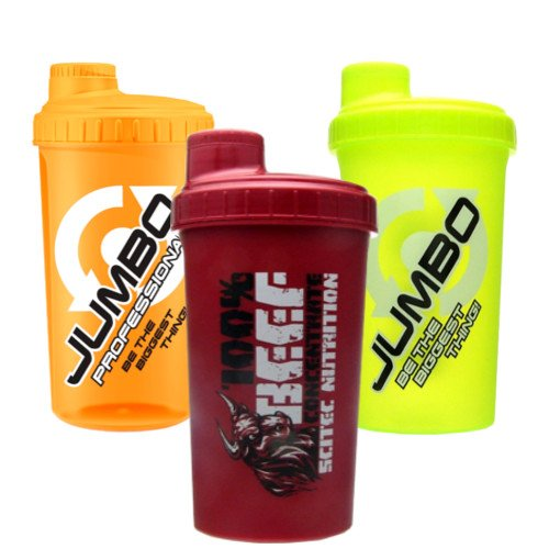 Scitec Nutrition - Beef Shaker 3 Stück , 700ml 3 Shaker
