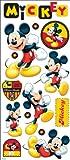Disney grande piatto adesivi-Mickey