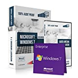 Microsoft® Windows 7 Enterprise. Original-Lizenz. 32 bit & 64 bit. Deutsch. MS Audit Sicher + ISO DVD, Lizenz. CLP Zertifiziert. Refurbished
