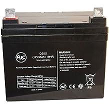 FLOW-MOW JETX 2668 12V 35Ah Rasen und Garten Batterie - Dies ist ein AJC® Ersatz