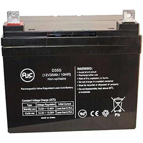 Batteria per Carrozzella Guardian Aspire M11 12V 35Ah - Ricambio di marca AJC®
