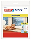 Tesa-Moll Universal Abdicht-Schaumstoff 10 m, weiß, 25 mm breit