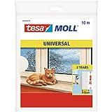 Tesa 05456-00100-00 - Burlete de espuma, 10 m x 25 mm, color blanco