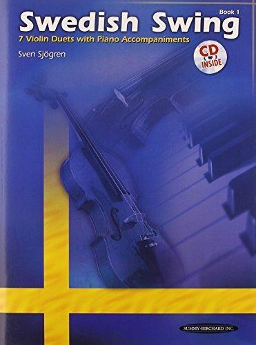 Swedish Swing: Violin Ensembles, Book & CD by Sven Sj?ren (2008-05-01)