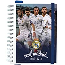 Grupo Erik Editores - Agenda Escolar 2017/2018 Semana Vista Real Madrid Jugadores