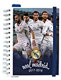 Grupo Erik Editores – School Diary 2017/2018 - Week per View - Real Madrid Players Cover Design (English Language not Guaranteed).