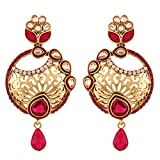 I Jewels Traditional Gold Plated Carved ...