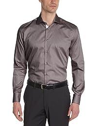 Gianni Ferrucci Herren Slim Fit Businesshemd