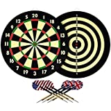Latest Double Side Dart Board Game With 4 Darts From VAIBHAVI ENTERPRISE