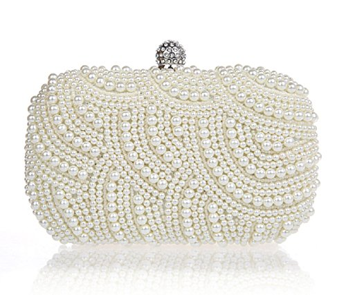 borsa da sera mini/ Pochette di perline/ mano sacchetto di moda-A A