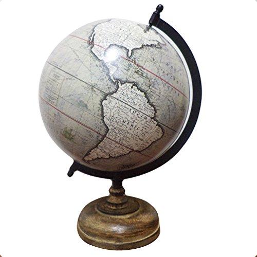 Stationäre Büro Desktop Globe Geographie politischen Welt grau Globe Tisch Decor Karte