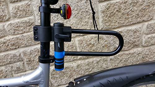 Silverline 577643 Bügelschloss für Fahrräder, Mehrfarbig, 145 x 210 mm