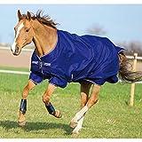 Horseware Amigo Turnout Hero 6 600 D lite Atlantic Blue 115